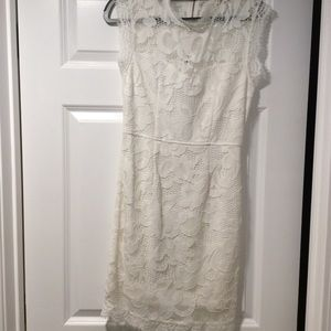 White lace dress size S NEVER WORN